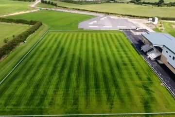 Natural Sports Pitch Construction